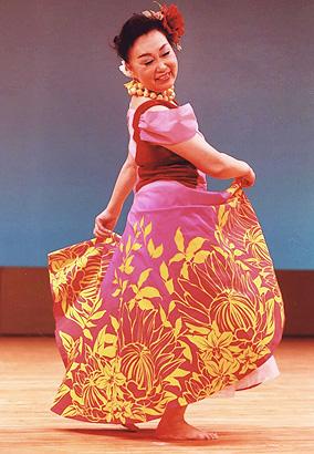 広島のフラダンス教室:講師:森田緑